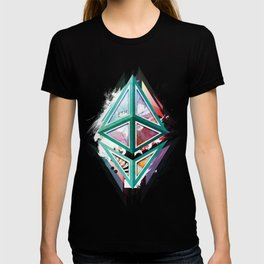 Ethereum Logo Abstract 01 T-shirt