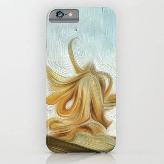 golden hair iPhone & iPod Case