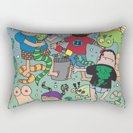 Snake My B#%tch UP! Rectangular Pillow