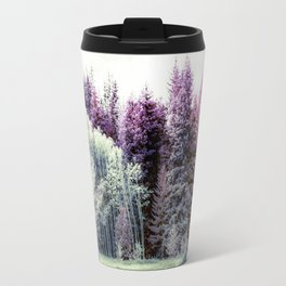 Tiny Cabin Among The Large Forest, Montana Travel Mug