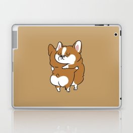 Corgi Hugs Laptop & iPad Skin