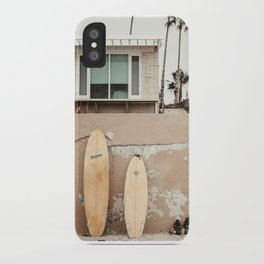 San Diego Surfing iPhone Case