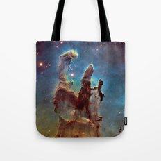 Pillars of Creation NebulA Tote Bag
