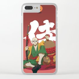 Dragon Ball Bushido : Tenshinhan Clear iPhone Case