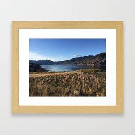 Clear Day by Kamploops Lake Framed Art Print