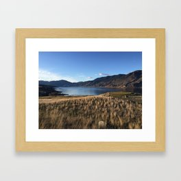 Clear Day by Kamploops Lake Framed Art Print