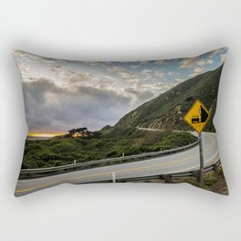 Little Sur Bend Rectangular Pillow