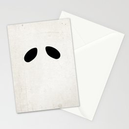 """""""Ghost"""" Halloween Poster Stationery Cards"""
