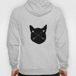 Black Cat & Arrows Hoody