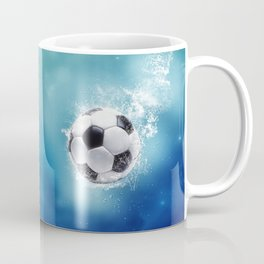 Soccer Water Splash Coffee Mug