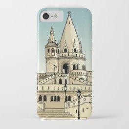 Fisherman's Bastion - Budapest - Hungary iPhone Case