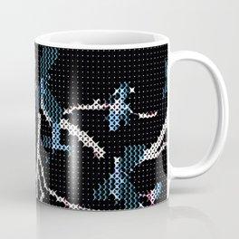 Winter Tree - Mid Century Stich Abstract Coffee Mug