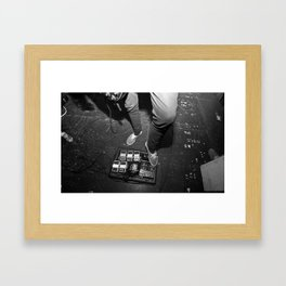 Pedal Board Live Framed Art Print