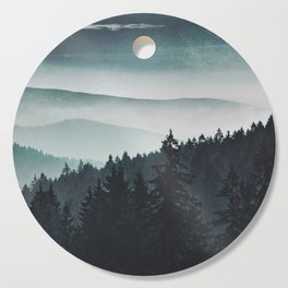 Mountain Light Cutting Board