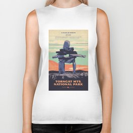 Torngat Mountains National Park Poster Biker Tank
