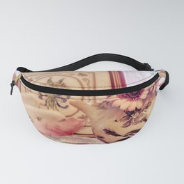 Tea and Daisies Fanny Pack