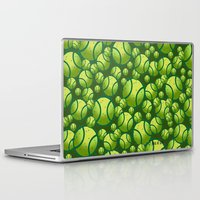 tennis Laptop & iPad Skins featuring Tennis by joanfriends