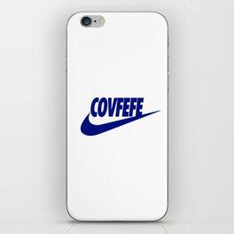 Covfefe [BLUE] iPhone Skin