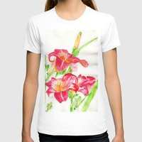 hot pink T-shirts featuring Hot Pink by Kate Havekost Fine Art