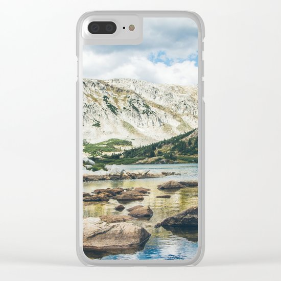 Mountain Lake 4 Clear iPhone Case
