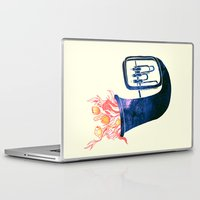 trumpet Laptop & iPad Skins featuring Natural Trumpet by Calvin Wu