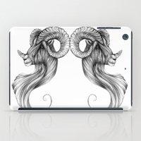 ram iPad Cases featuring Ram by Judy Csotsits