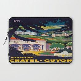 Vintage poster - Auvergne Laptop Sleeve