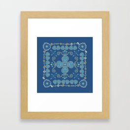 Quilted Framed Art Print