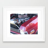 muscle Framed Art Prints featuring muscle 2 by Davey Charles
