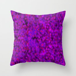 crazed colors 3 Throw Pillow