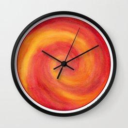 Pele Fire Wall Clock