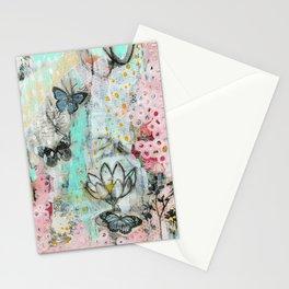 Mariposa Azul Stationery Cards