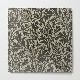 """William Morris """"Thistle"""" 10. Metal Print"""