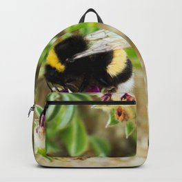 bumble bee on the dunes I Backpack