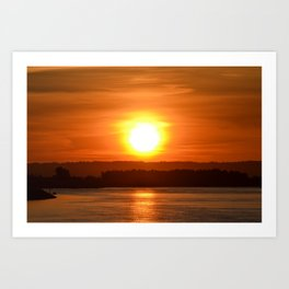 Follow the Sun Art Print