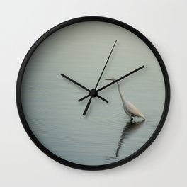 Breakfast on a Cloudy Day Wall Clock