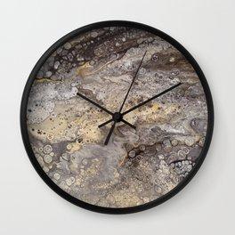 Earth Two Wall Clock