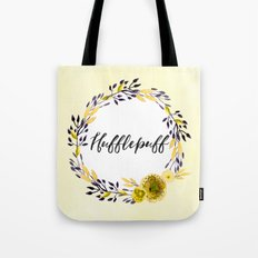 HP Hufflepuff in Watercolor Tote Bag