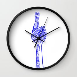 Here's Hoping Wall Clock