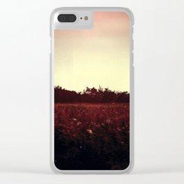 familiar Clear iPhone Case
