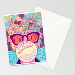 Tokyo Travel Poster Stationery Cards