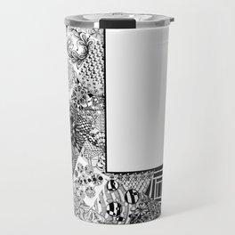 Cutout Letter L Travel Mug
