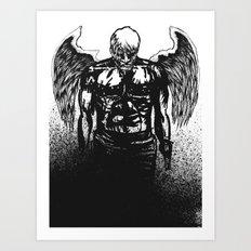 Some angels. Art Print