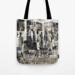 One in, One out Tote Bag