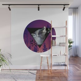 Witchy Wolf Wall Mural