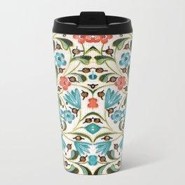 Medieval Floral 2 Metal Travel Mug