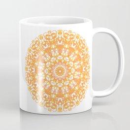 Mandala 12 / 1 eden spirit orange yellow pink Carnelian Coffee Mug