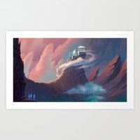 STAR TREK ANIMATED: Olympus Art Print