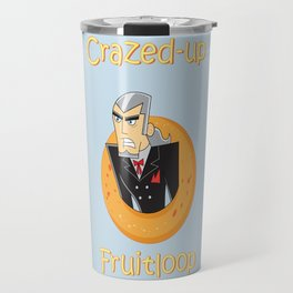 Crazed-up Fruitloop (Human) Travel Mug