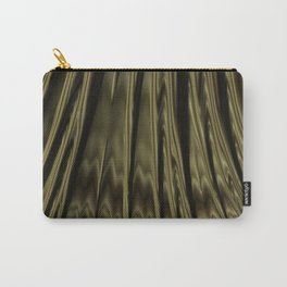 Gold and Black Fractal Carry-All Pouch